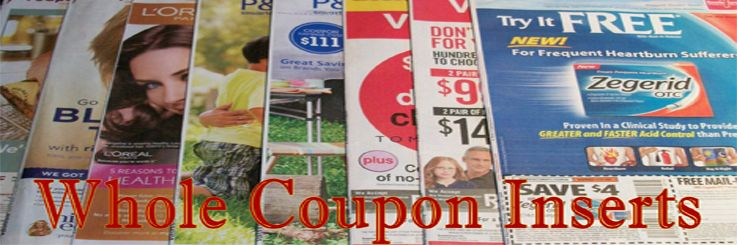 Where Can I Get Coupon Inserts Coupon Inserts Coupons Sunday Newspaper