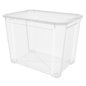 Delicieux KIS T Box Storage Tub Extra Large Clear 3 Pack