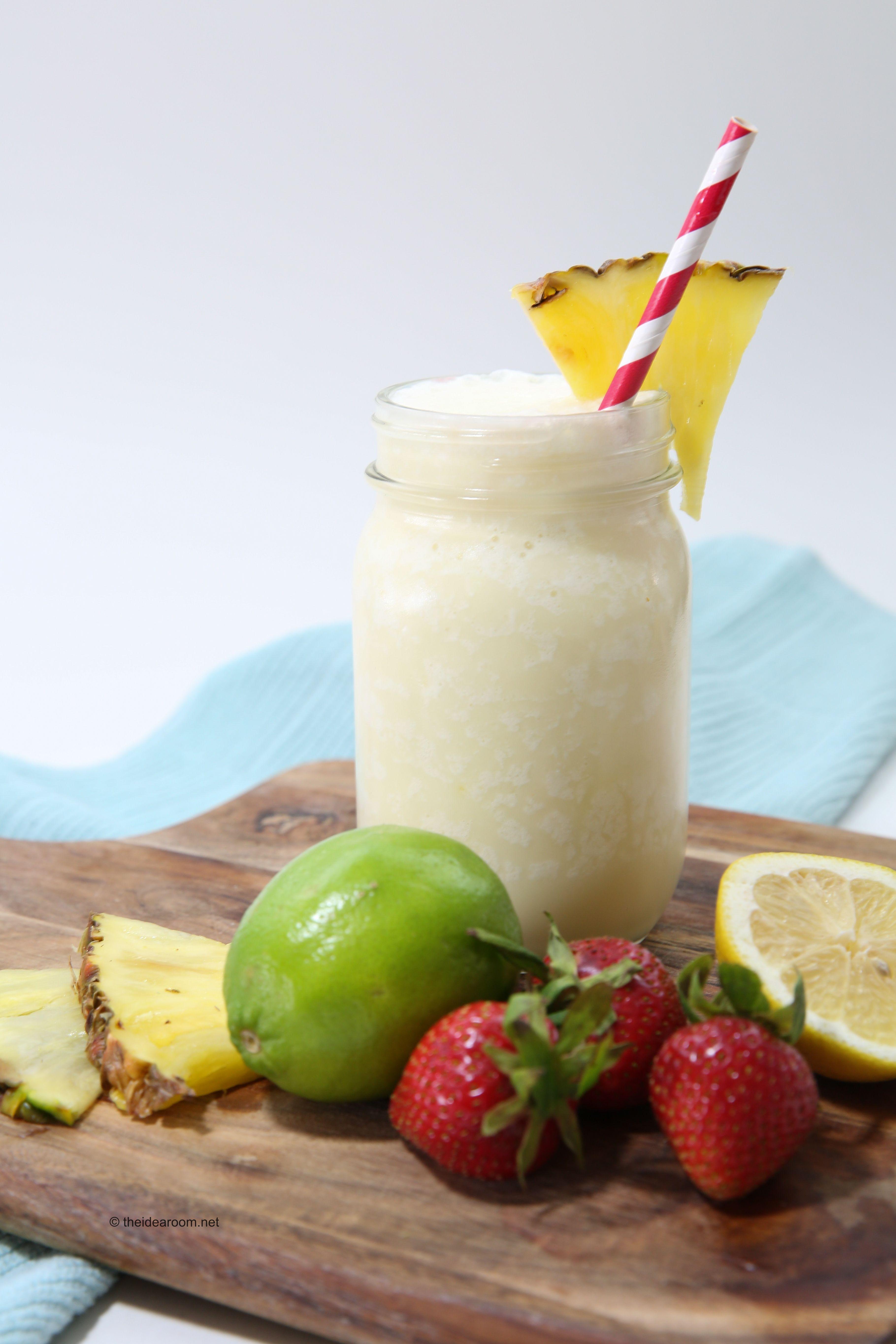Frozen Pina Colada Recipe Non Alcoholic Recipe Virgin Pina