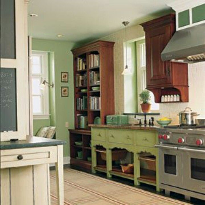 A Furniture Find: I Find This Kitchen Appealing Because, In Addition To