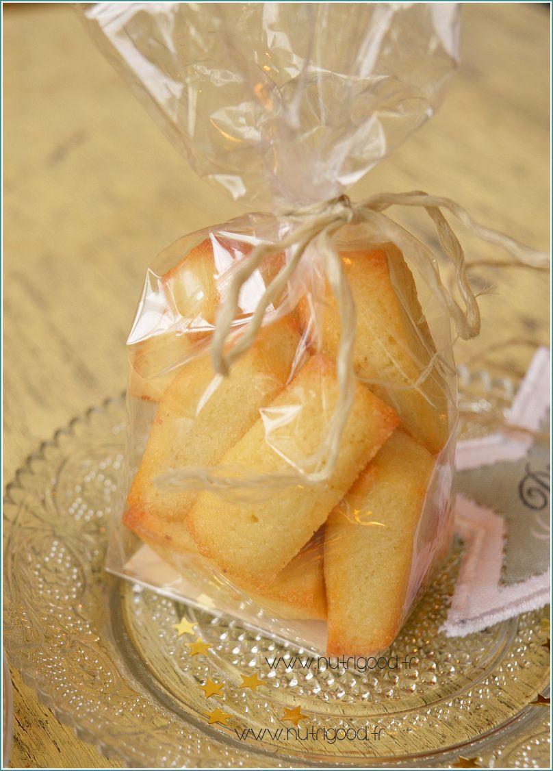 Une id e de cadeaux gourmands des financiers aux fruits - Confectionner des rideaux originaux ...