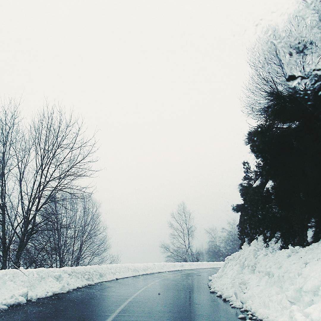 On instagram by carlotaclara #landscape #contratahotel (o) http://ift.tt/1LNU8PW #snow #nieve #carretera #road #invierno #winter #montaña #montañas #mountain #mountains #trees #foggy #clouds #gray #cloudy #vsco #vscocam #paisaje #paisajes #photooftheday #fotografia #naturaleza #nature #natura #ilovenature #photographylovers