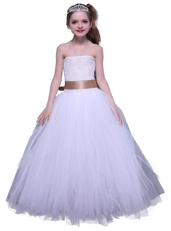 Cool amazing tutu dreams little girls party dress white white