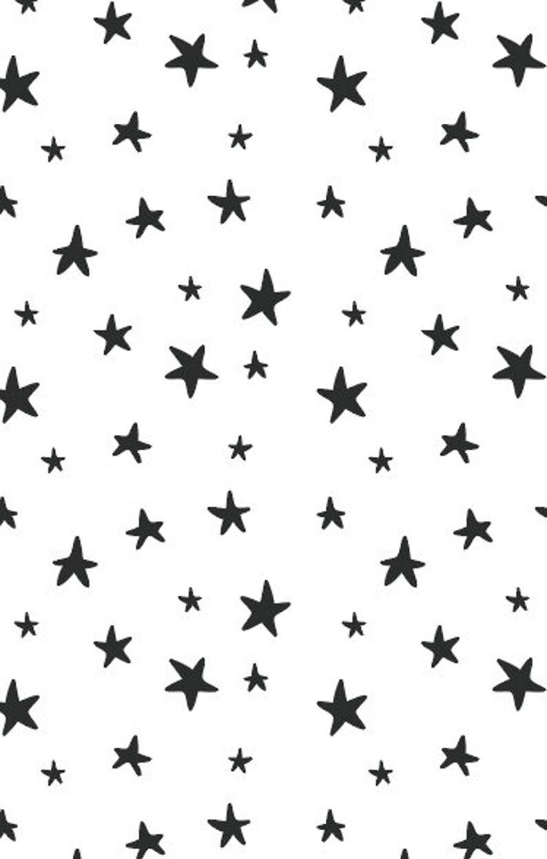 Star Pattern Hand Drawn Pattern Digital Paper Digital Etsy In 2020 How To Draw Hands Hand Drawn Pattern Star Patterns