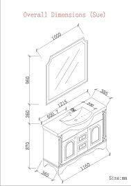 What is the Standard of a Bathroom Vanity Height | Bathroom vanities