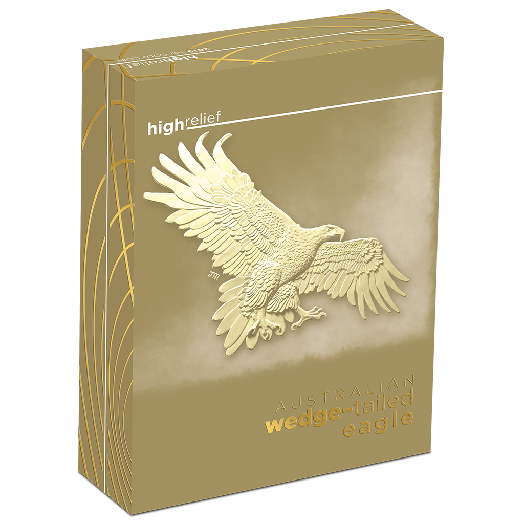 2019 Wedge-Tailed Eagle High Relief 1oz Silver Proof Coin