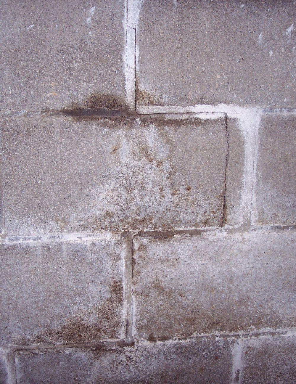 fix cracks concrete block walls