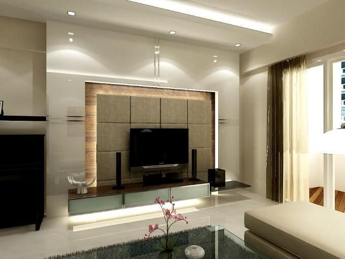 15 tv wall design ideas living room layouts pinterest for Feature wall interior design