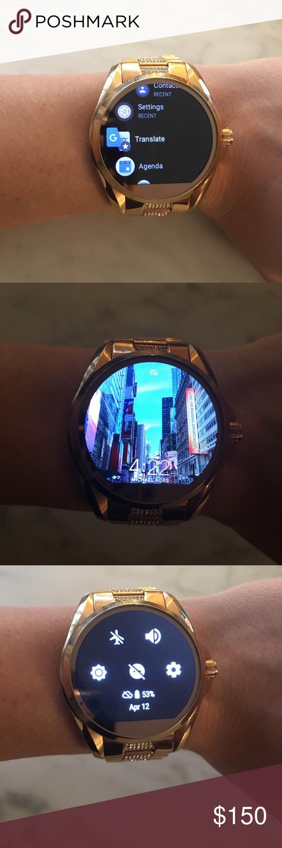 Michael Kors Access Smartwatch Michael kors, Smart watch