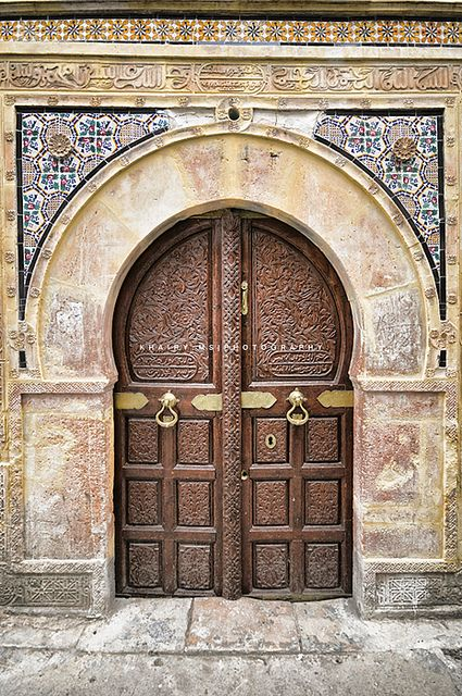 "Africa | ""Bab"" Door in Libya 