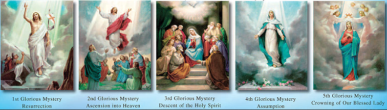 Holy Rosary - Glorious Mysteries - Wednesday & Sunday ...