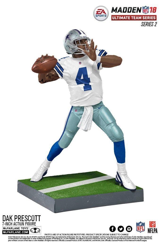 Cowboys NFL Dak Prescott EA Sports Madden 18 Ultimate Team Series 2  (PRE-ORDER 0a55d73f8