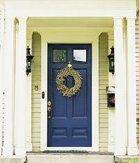 Navy front door hmmm something different  edgecomb gray benjamin moore exterior   House Exterior Color  . Front Doors With Windows On Top. Home Design Ideas