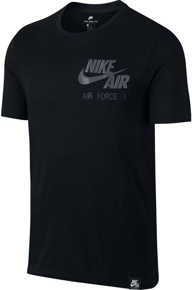 Nike Men's Air Force 1 AF1 Logo T-Shirt