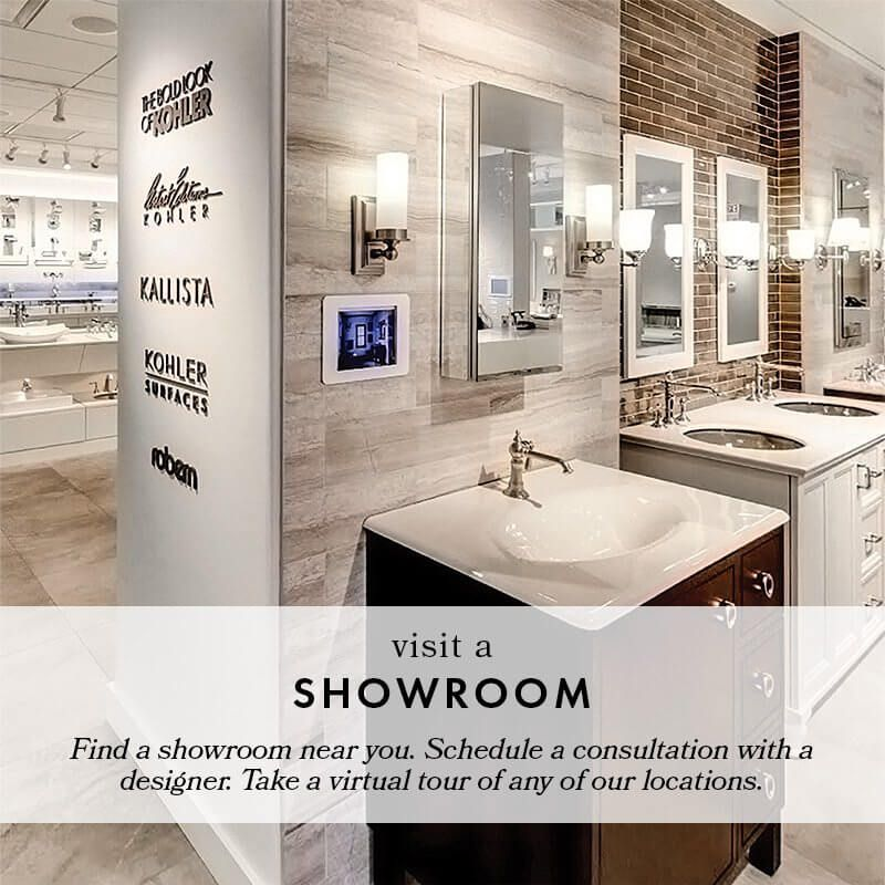 Studio41 Home Design Showroom Kitchen Bath Decorative Hardware Chicago Scottsdale Bathroom Vanity Decor Vanity Decor Minimalist Showers