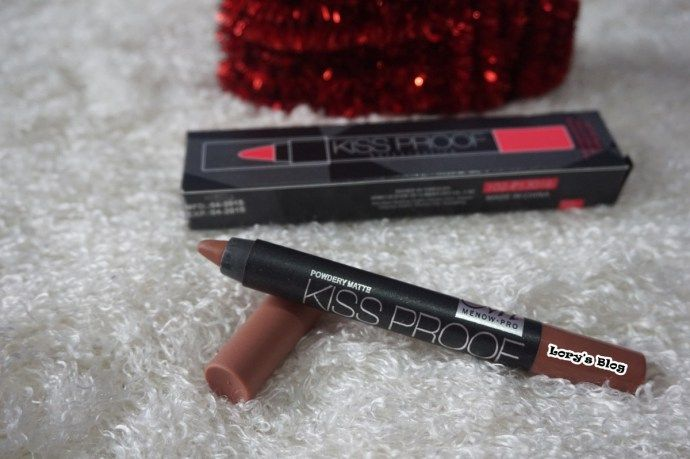 Review Menow Kiss Proof Soft Lipstick With Images Ruj