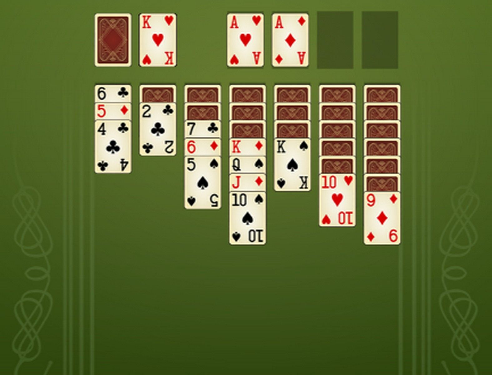 Solitaire Master One player card games, Card games