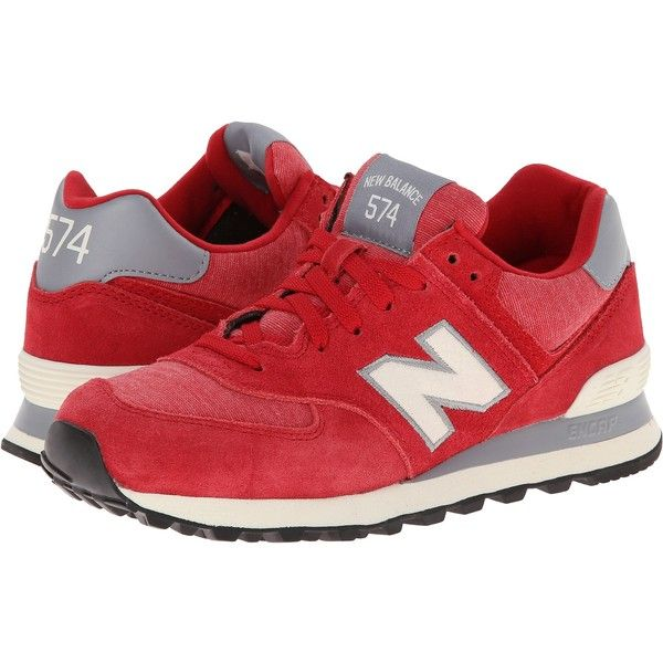 New Balance Classics WL574 - Pennant Collection Women's Lace up ...