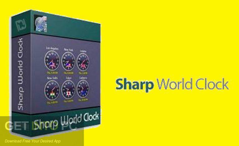 Sharp World Clock Free Download-GetintoPC com | Download in