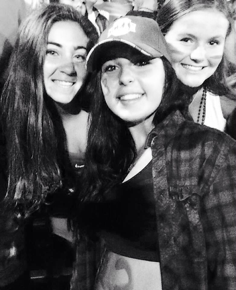 Friday football with my loves