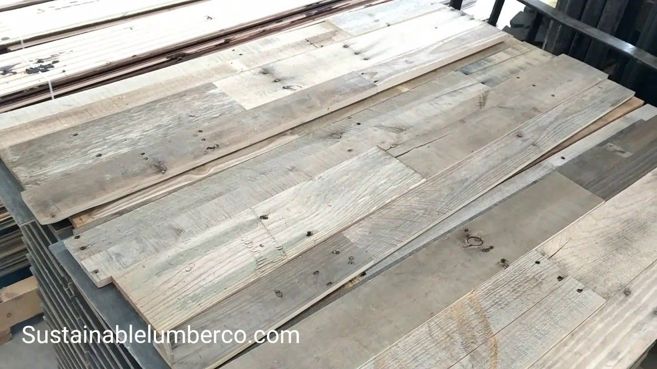 Boxing up our Prefabricated Pallet Wood Wall Panels for an