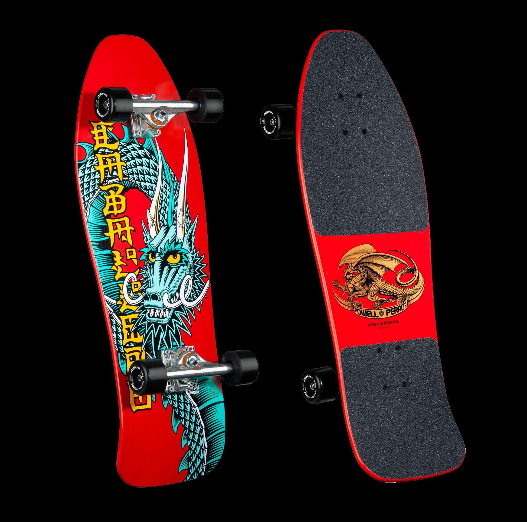 Bones Brigade Caballero Series 10 Skateboard Complete Red 10 47x 30 94 In 2020 Bones Brigade Grip Tape Designs Vintage Skateboards