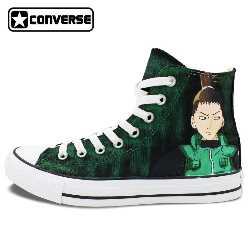 fe3978ddf2830a Original Converse All Star Men Women Shoes Anime Shikamaru Naruto Hand  Painted Shoes Boys Girls Sneakers Cosplay Christmas Gifts  Affiliate