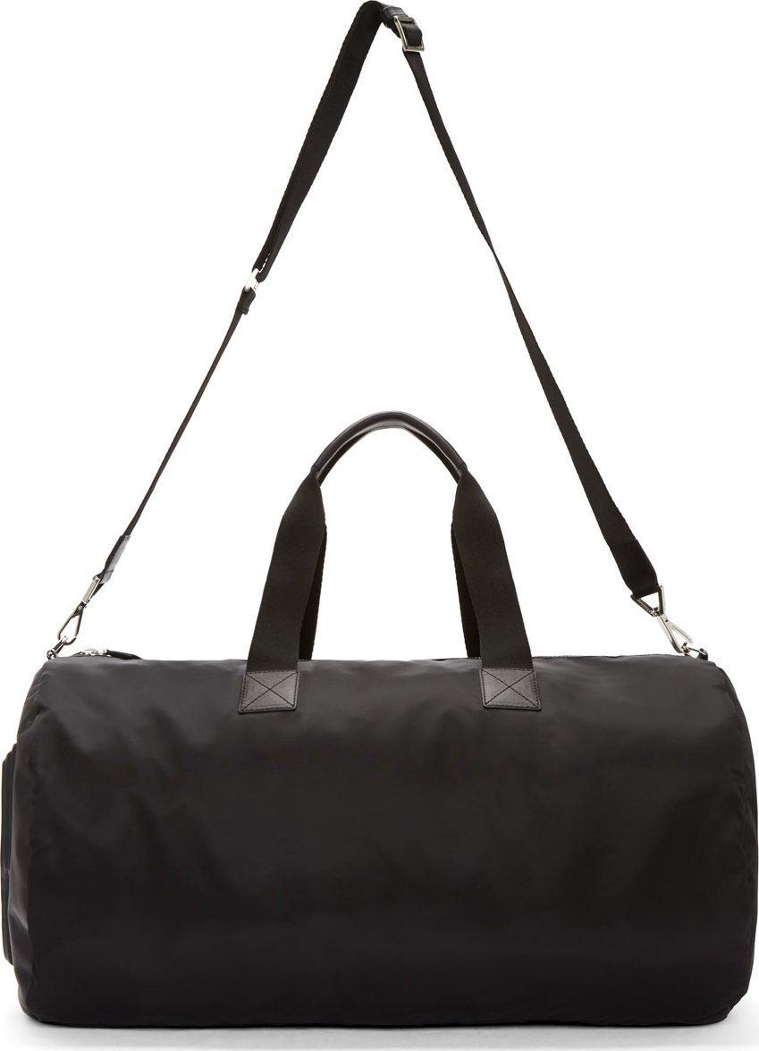 93d9c7e5827c Givenchy Black Nylon  17  Duffle Bag