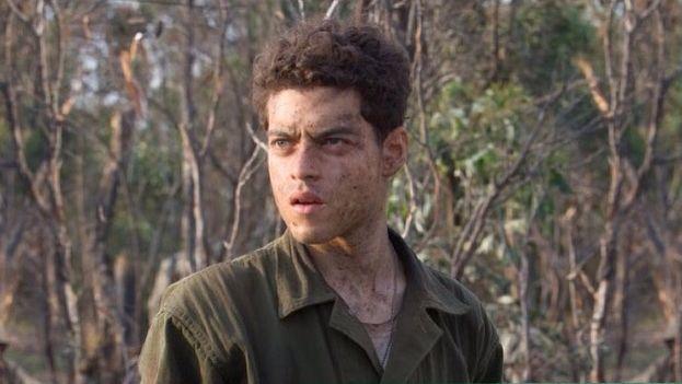 Rami Malek as Snafu in The Pacific