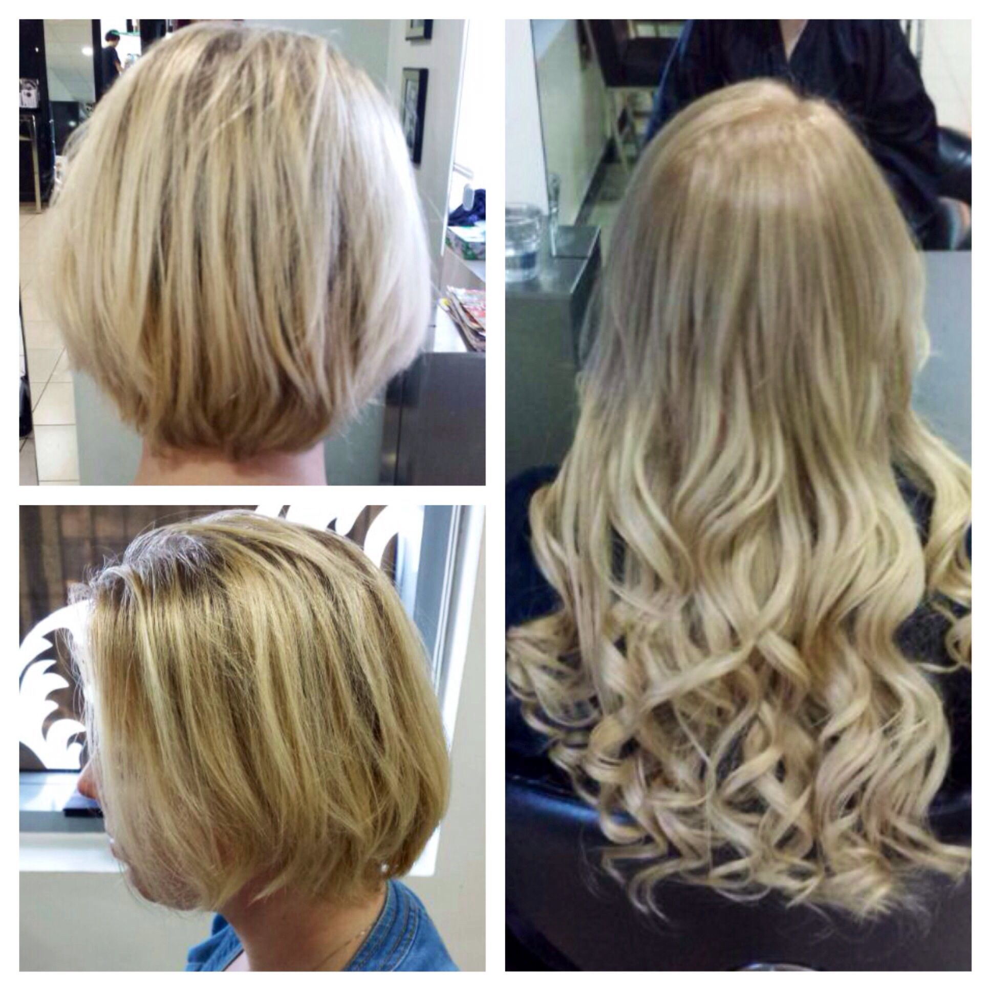 Beautiful Dream Catcher Extensions And Wella Colour Treatment By Glamour Hair Salon Abu Dhabi