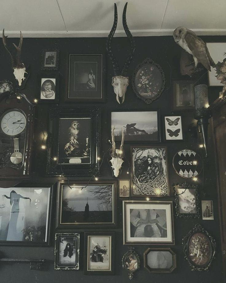 Victorian Wall Decor Witch Wall Decor Home Decorating Ideas French Victorian Wall Decor Gothic Interior Gothic Room Gothic Home Decor