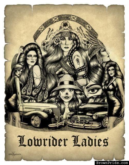 Lowrider arte loco brownpridecom photo gallery bp - Brown pride drawings ...