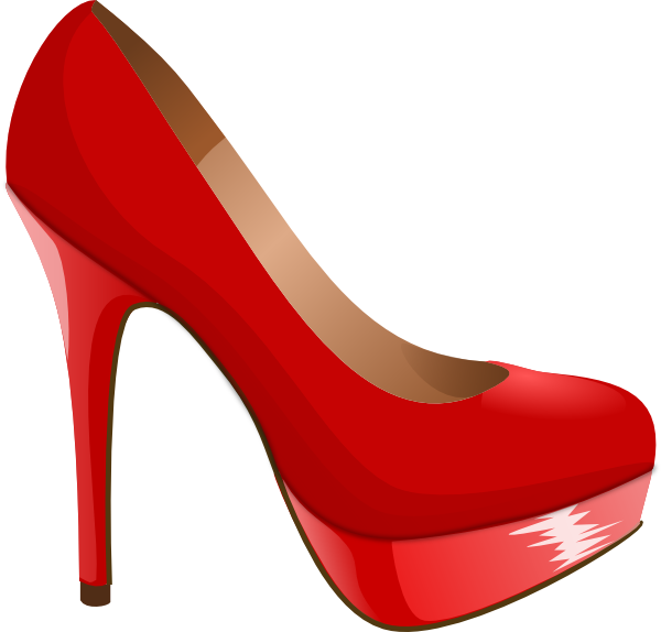high heel svg red high heel clip art vector clip art online rh pinterest com high heel clip art images high heel clipart free