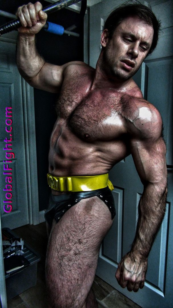 Muscle gay bdsm