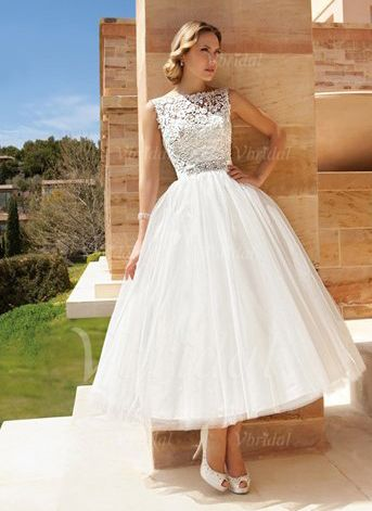 Kleid standesamt tull