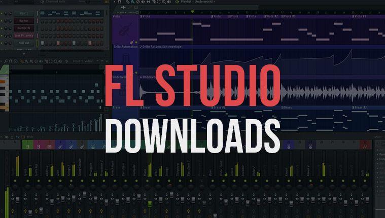 Here are fl studio free downloads for all you fl studio
