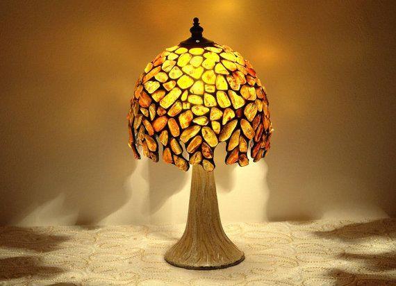 Amber ball table lamp 7 lamp shade made of natural baltic amber ball table lamp 7 lamp shade made of natural baltic amber aloadofball Choice Image