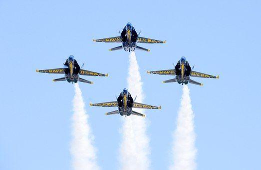 Blue Angels, Aircraft, Flight
