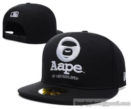 Aape Snapback Caps Hats Black  215884bfb13