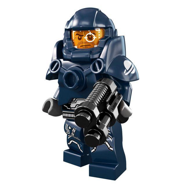 En mi época los Lego eran mucho más inofensivos