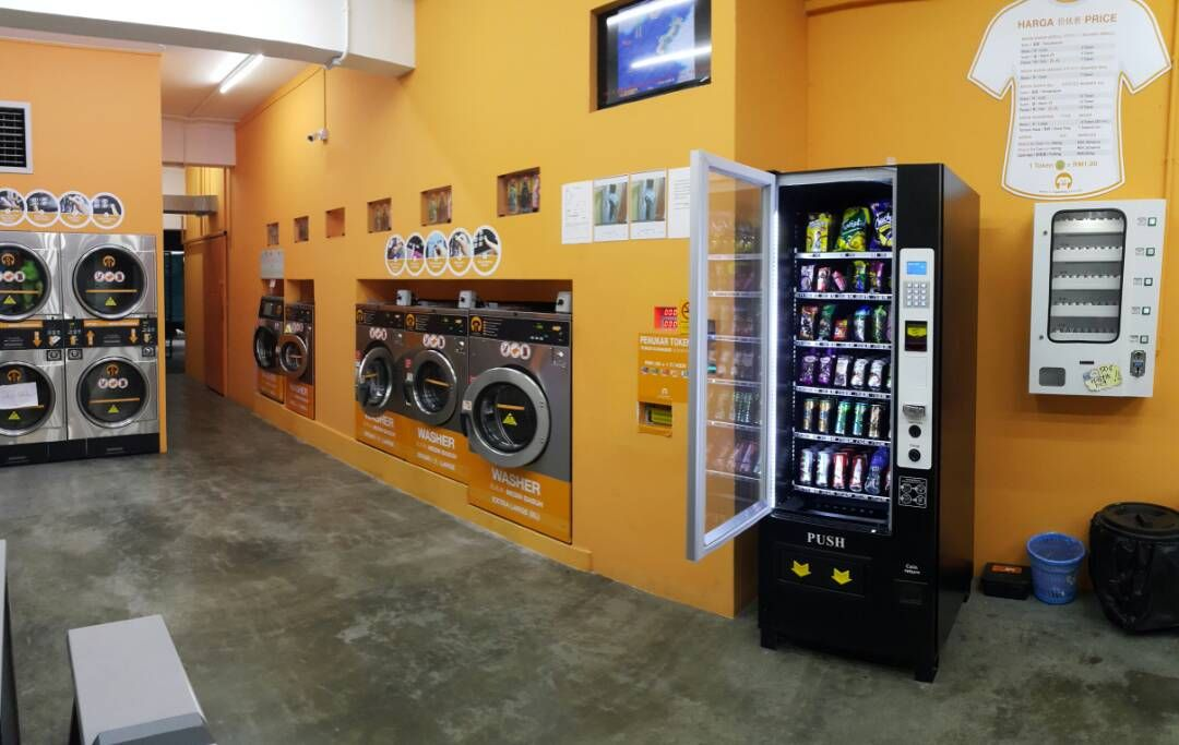 New Vending Machine Service Is Not Available At 123 Laundry At