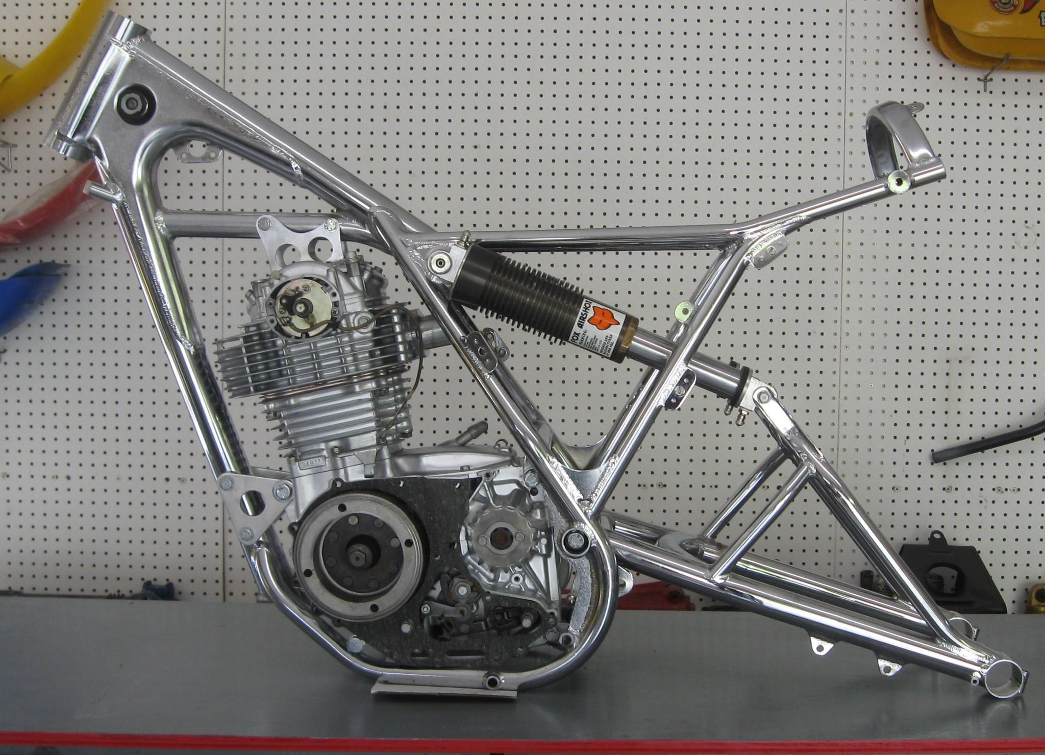 Kramer Frame for Honda XR500 | VINTAGE DIRT | Pinterest | Honda ...