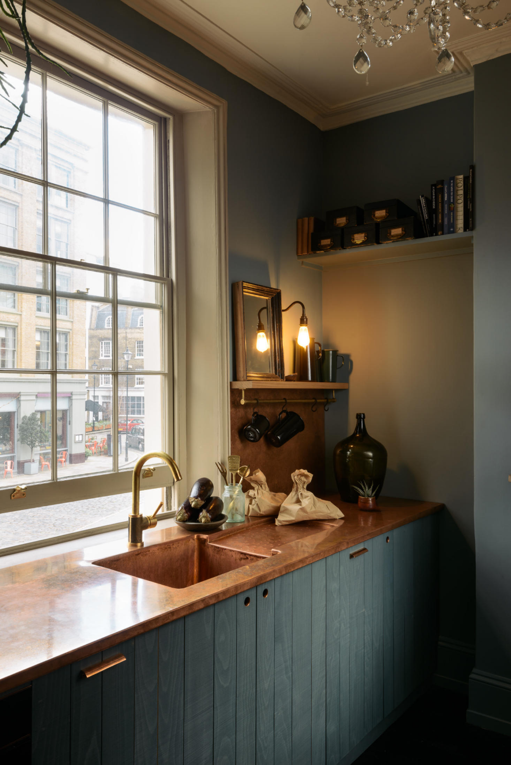 Kitchen of the Week deVol's Urban Rustic Kitchen Gets a