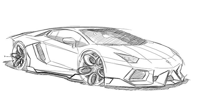 Image for lamborghini aventador black and white drawing stuff to draw pinterest lamborghini aventador lamborghini and drawings
