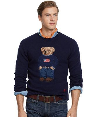 3c8fbe09a Polo Ralph Lauren Polo Bear Wool Sweater