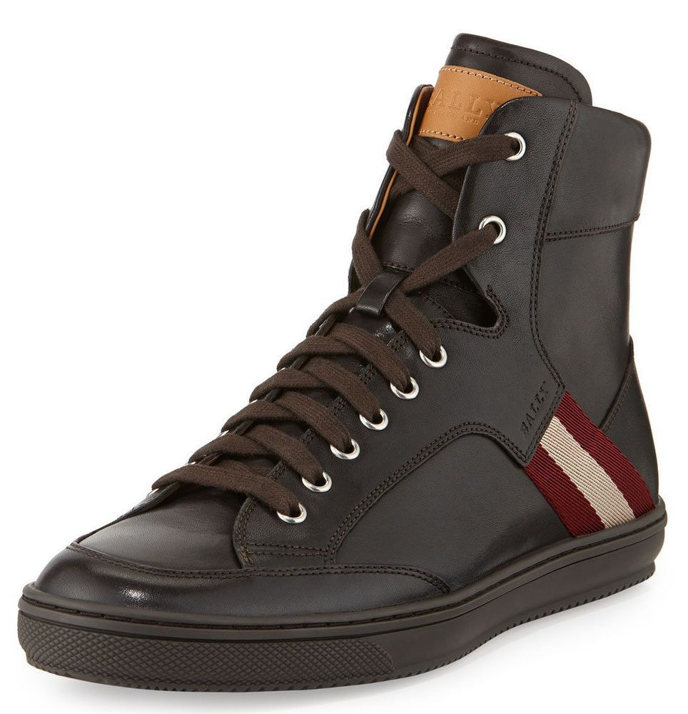 New AUTHENTIC BALLY OLDANI HIGH TOP