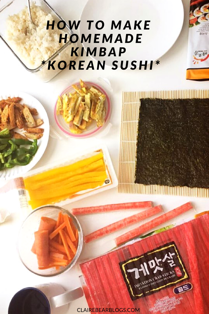 Recipe And Step By Steps To Make Homemade Kimbap Kimbap Is A Word For Korean Sushi Healthy Ingred Quick Dinner Recipes Healthy Quick Healthy Dinner Recipes
