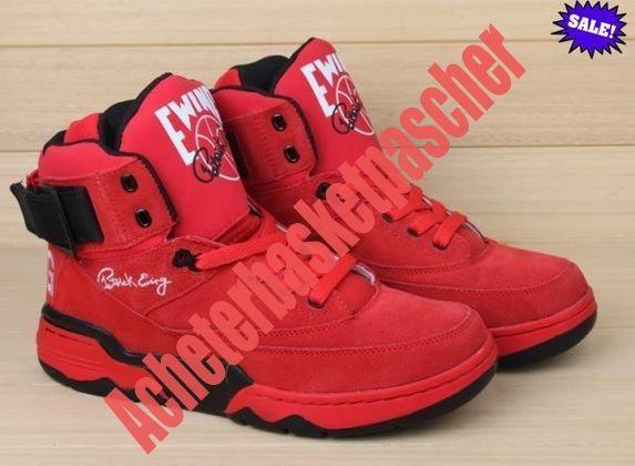 3681dafb98 TPQR Homme Rouge Chaussure Basketball Ewing Athletics 33 Hi GD BIGBANG 2014  17566