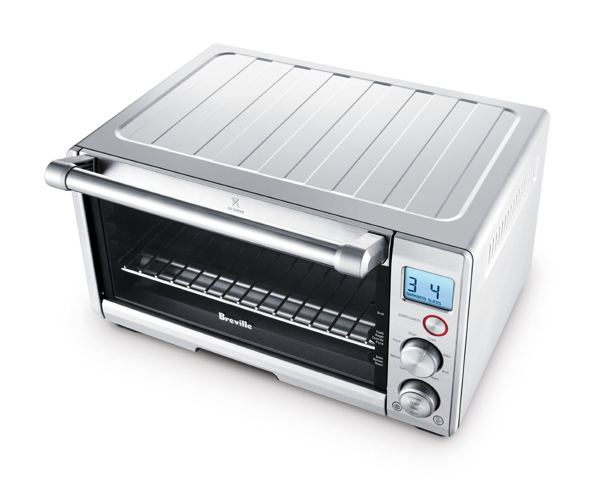 Breville Bov650xl The Compact Smart Oven Stainless Steel Click
