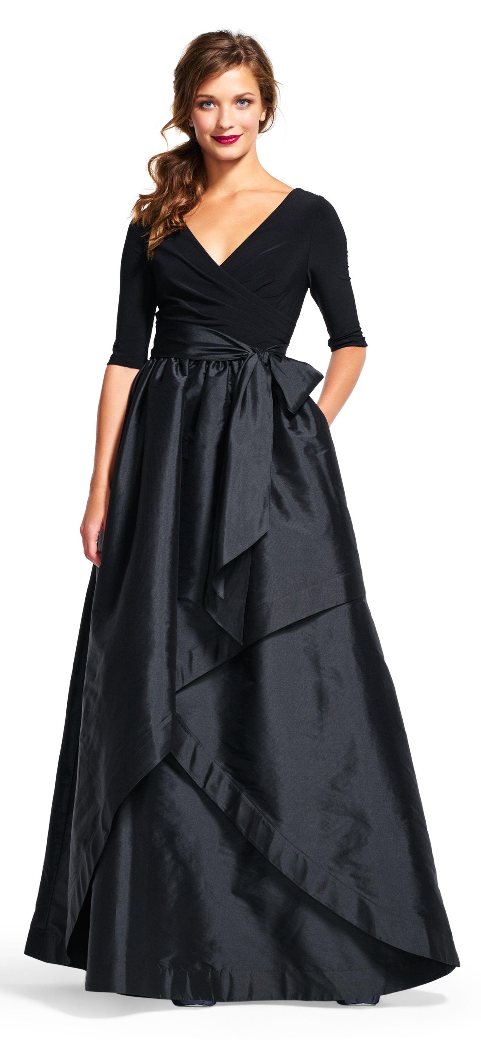 Black Taffeta Ball Gown Skirts